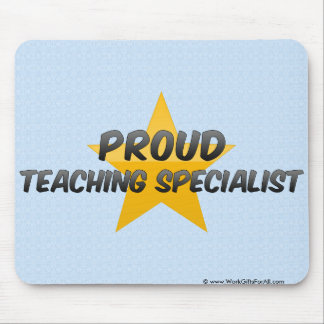 Proud Teaching Specialist Mouse Pads