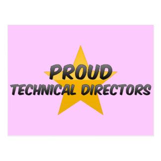 Proud Technical Directors Post Cards