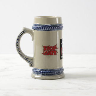 proud to be a amre, STOPTHEHATE, STOPTHEHATE 18 Oz Beer Stein