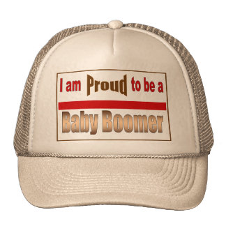 Proud to be a Baby Boomer Trucker Hat