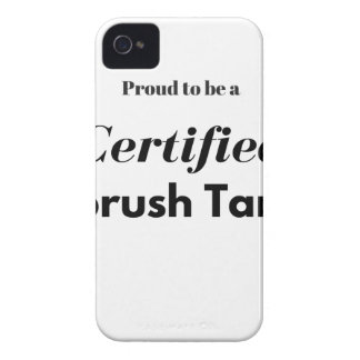 Proud to be a Certified Airbrush Tanner iPhone 4 Case-Mate Case