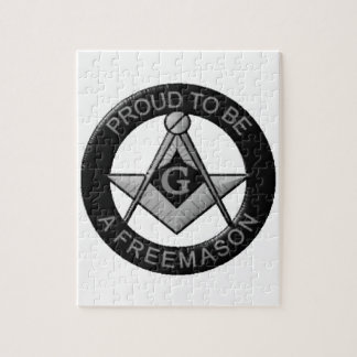 Proud To Be A Freemason Jigsaw Puzzle