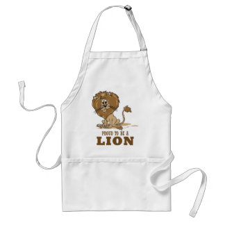 Proud To Be A Lion Adult Apron