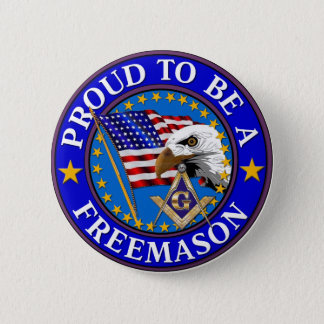 Proud to be a Mason 2 Button