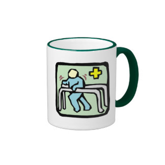 PROUD TO BE A PHYSICAL THERAPIST RINGER MUG