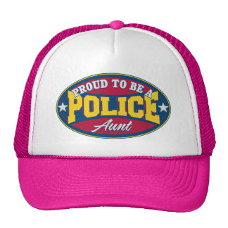 Proud to be a Police Aunt Cap