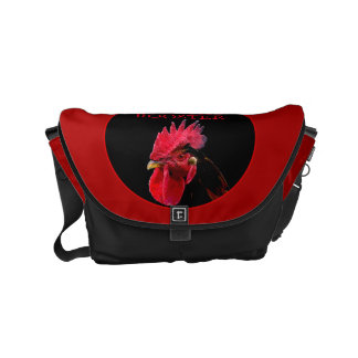 Proud to be a Rooster Chinese zodiac M Bag Courier Bag