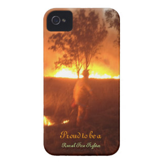 Proud to be a Rural Fire Fighter Iphone 4g BTC iPhone 4 Cases