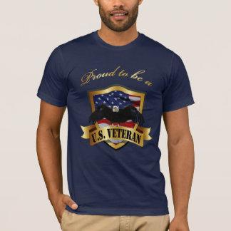 Proud to be a U.S. Veteran T-Shirt