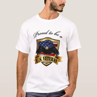 Proud to be a U.S. Veteran T-Shirt