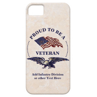 Proud to be a Veteran iPhone 5 Cover