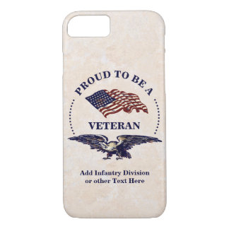 Proud to be a Veteran iPhone 8/7 Case