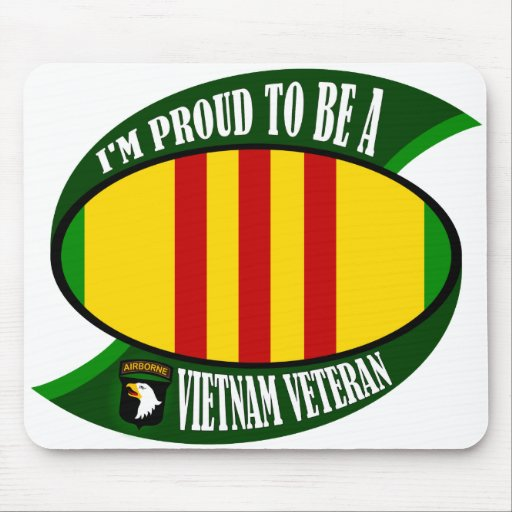 Proud to be a Vietnam Vet Mouse Pad