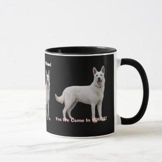 Proud To Be a White German Shepherd! Mug