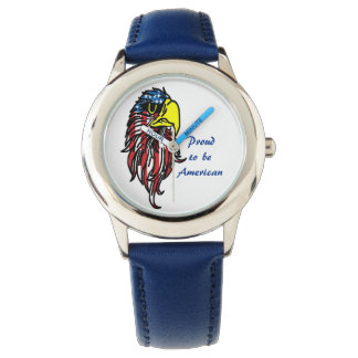 Proud to be American American flag Eagle Watch