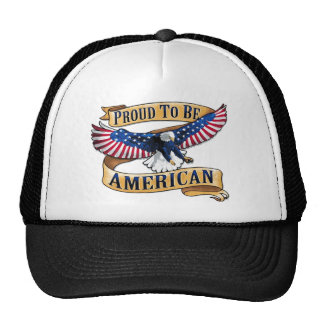 Proud to be American Mesh Hats