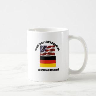 Proud to be American of German of German desent Coffee Mug