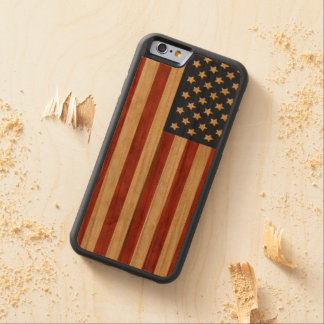 Proud to be American Rustic Americana Cherry iPhone 6 Bumper Case