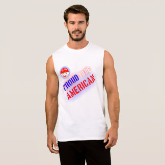 Proud to be American Sleeveless Shirt