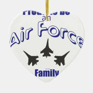 Proud to be an Air Force FAMILY Christmas Ornament