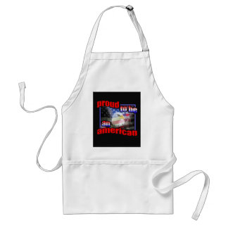 Proud to be an american aprons