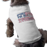 Proud to be an American Atheist Dog T-shirt