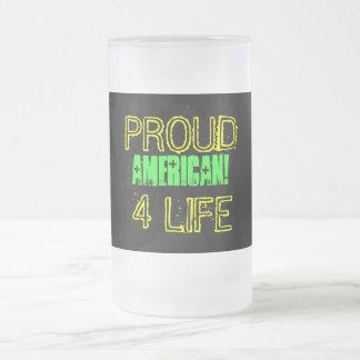 PROUD TO BE AN AMERICAN GIFT MUG