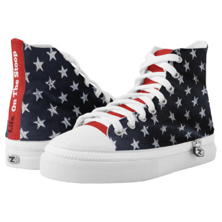Proud To Be An American - High Top Sneakers