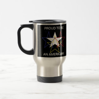 PROUD TO BE AN AMERICAN! MUGS