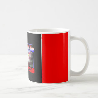 Proud to be an american coffee mugs