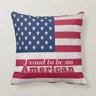 Proud to Be An American Pillow