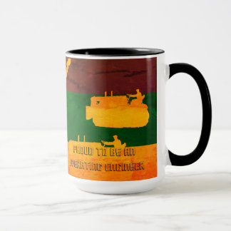 Proud to Be an Operating Engineer COLORFUL MUG