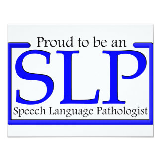 Proud to be an SLP Card