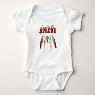 Proud to be Apache Baby Bodysuit