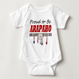 Proud to be Arapaho Baby Creeper