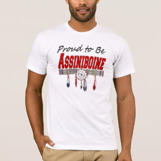 Proud to be Assiniboine Fitted T-shirt
