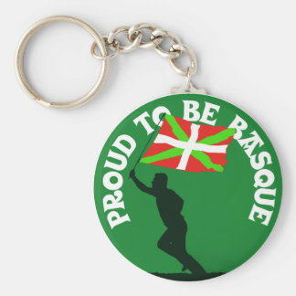"""Proud to be Basque"" Key Ring"