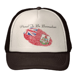 Proud To Be Bermudian Items Cap