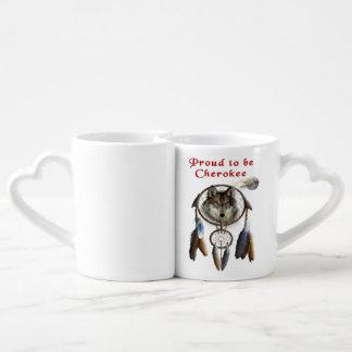 proud to be cherokee coffee mug set