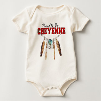 Proud to be Cheyenne Baby Organic Bodysuit