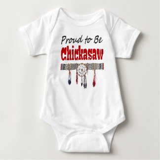 Proud to be Chickasaw Infant Creeper