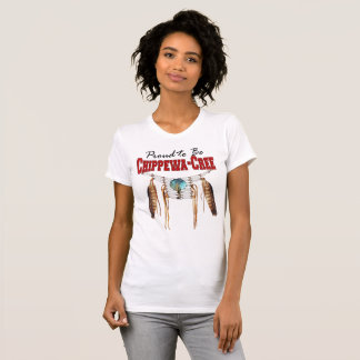 Proud to be Chippewa-Cree American Apparel T-Shirt