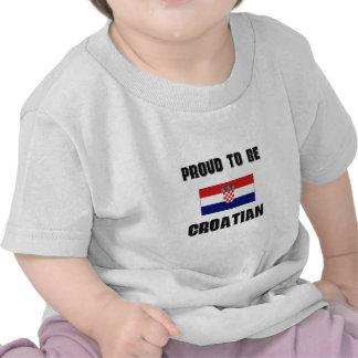 Proud To Be CROATIAN Shirts