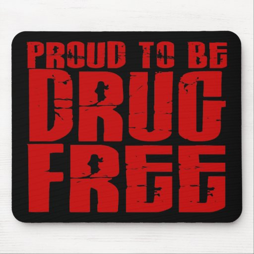 Proud To Be Drug Free 2 Mouse Pads