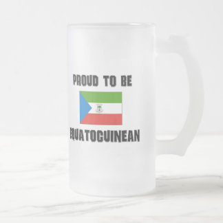Proud To Be EQUATOGUINEAN Mugs