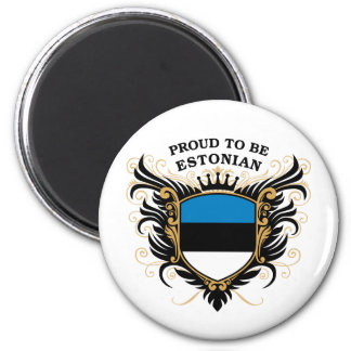 Proud to be Estonian Magnet