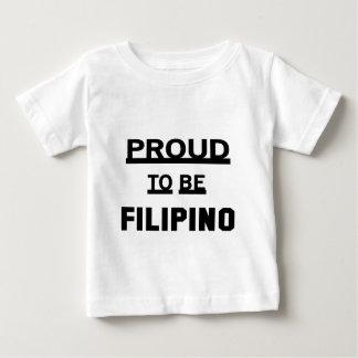 Proud to be Filipino Baby T-Shirt