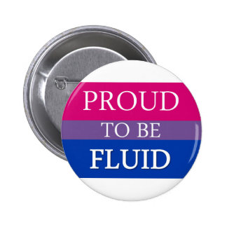 Proud to be Fluid Pinback Buttons