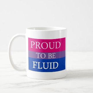 Proud to Be Fluid Basic White Mug