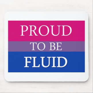 Proud to be Fluid Mouse Pad